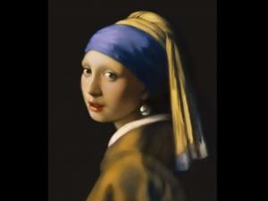 フェルメールの『真珠の耳飾の少女』
