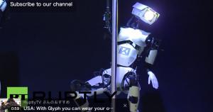 ロボットのポールダンス